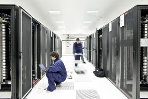 Illustration travail data center